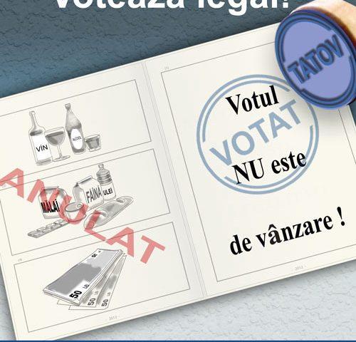 TU DECIZI !   VOTEAZA LEGAL !