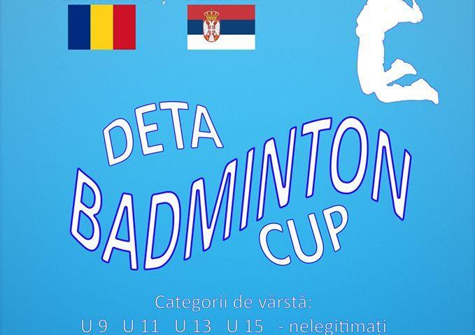 Cupa Orasului Deta la badminton