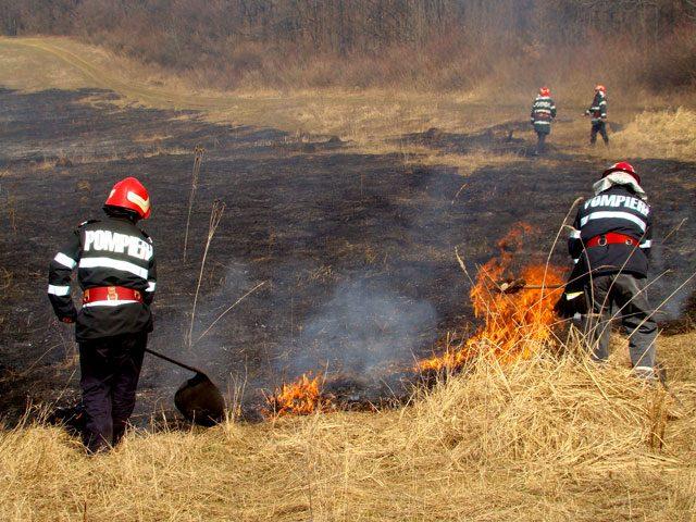 Campanie de informare si instiintare in vederea prevenirii incendiilor de vegetatie ierboasa si fond forestier