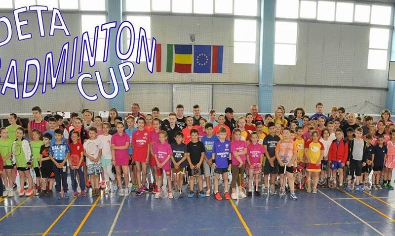Cupa Orasului Deta la badminton 2016