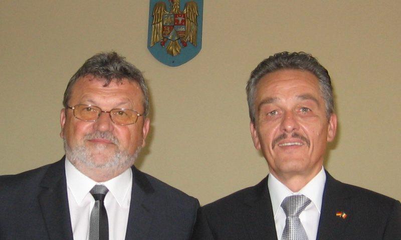 Vizita la Deta a atasatului Consulatului German din Timisoara