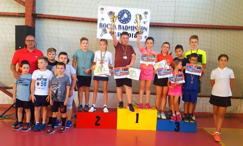 """Deta a făcut spectacol la fileu la """"Bocșa Badminton Cup"""""""