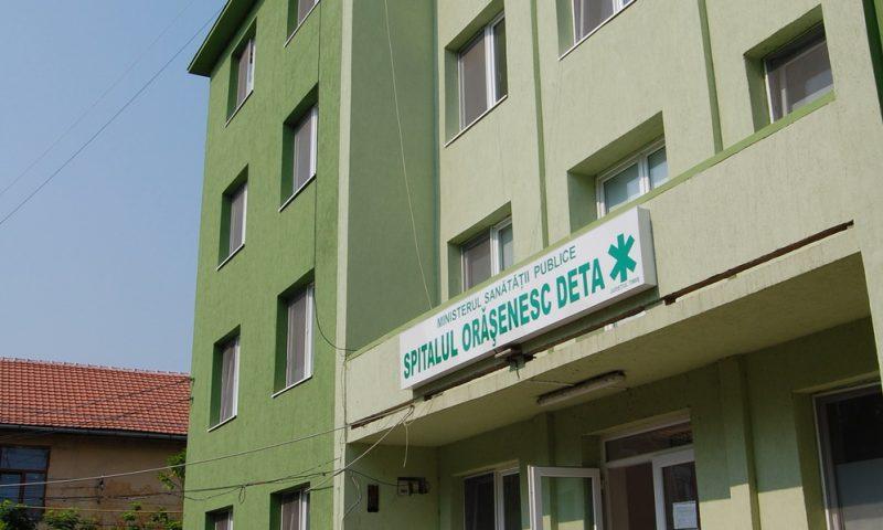 Anunt pentru ocuparea postului de manager in cadrul Spitalului orasenesc Deta