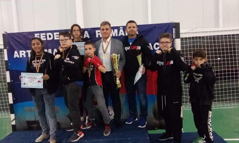 Sportivii noștri pe podium la Târgu Jiu