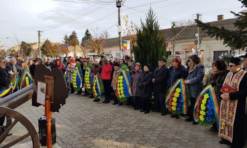 Monumentul Eroilor, ceremonie de 1 decembrie