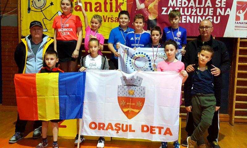 Deta la Badminton Banat Open, Vârșeț 2018