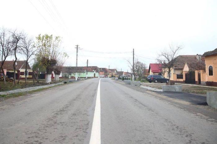 Drum reabilitat între Deta și Birda sau Opatița