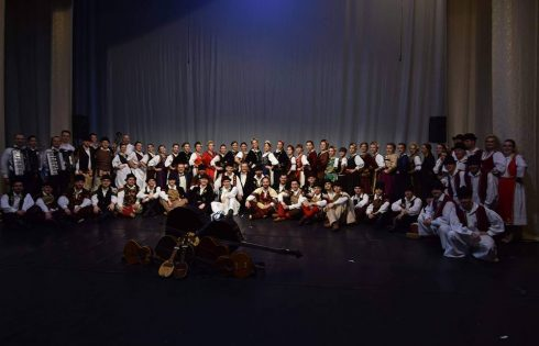 Ansamblul Sveti Sava Deta pe scena Operei Naționale din Timișoara
