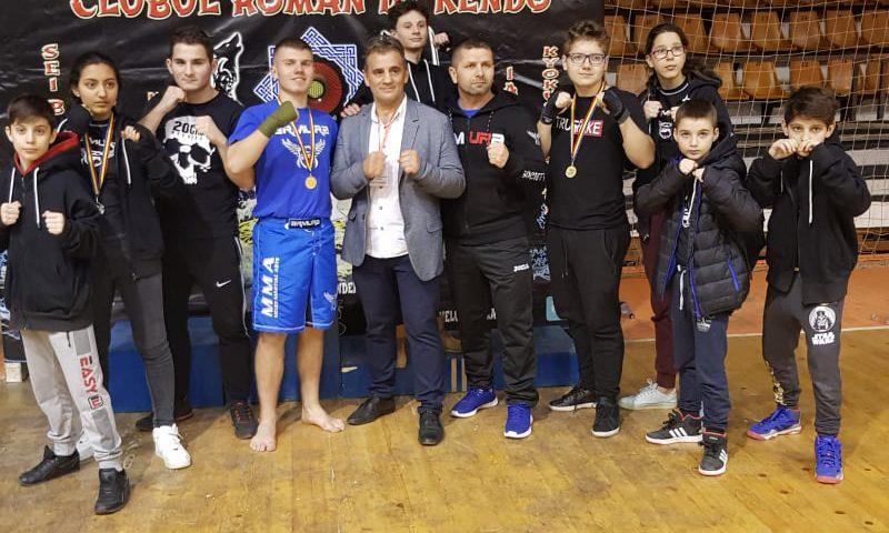 Rezultate bune pentru echipa noastră de kickboxing la Trofeul Dacic de la Plopeni