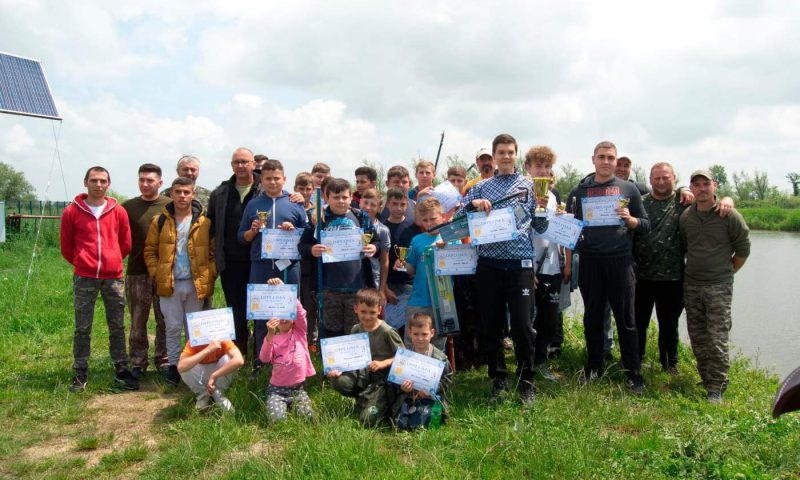 De 1 iunie, copiii din Deta s-au distrat la un concurs de pescuit