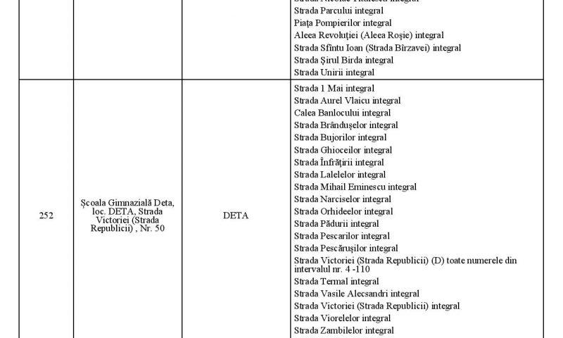 Află care sunt secțiile de votare și străzile aferente pentru turul 1 al alegerilor prezidențiale