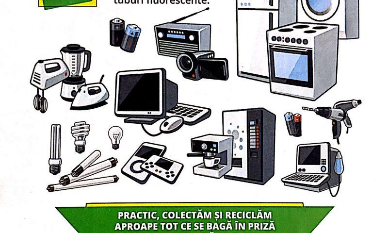 Colectare gratuită deșeuri electrice și electronice