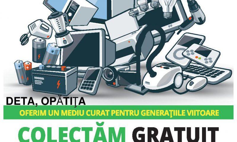 Colectare gratuită de deșeuri electrice și electronice